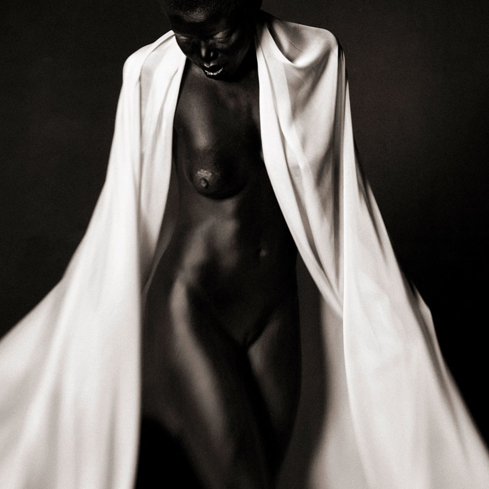 DRAPED WOMAN 001 By Jean Christophe Lagarde