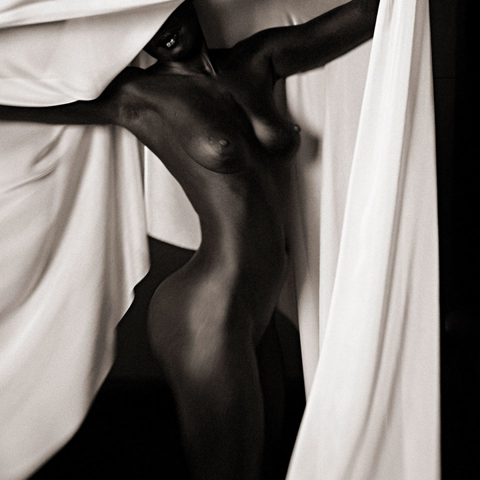 DRAPED WOMAN 004 By Jean Christophe Lagarde