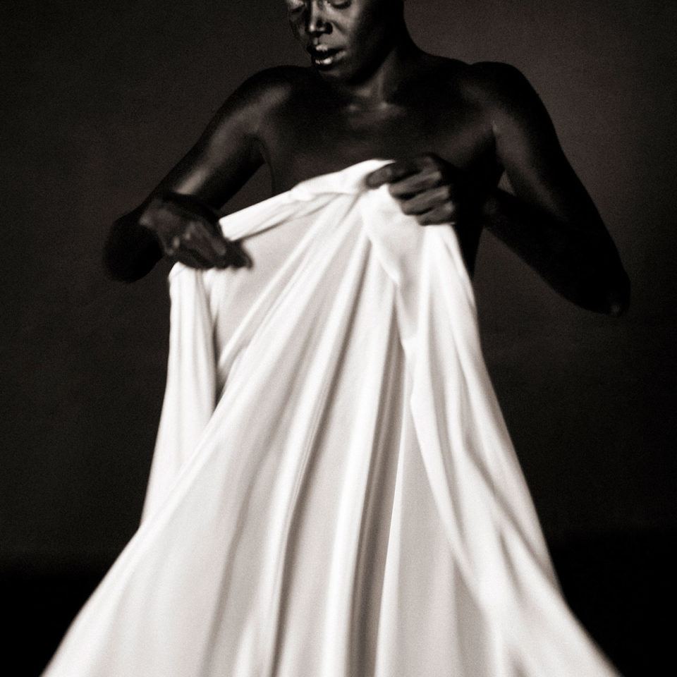 DRAPED WOMAN 010 By Jean Christophe Lagarde