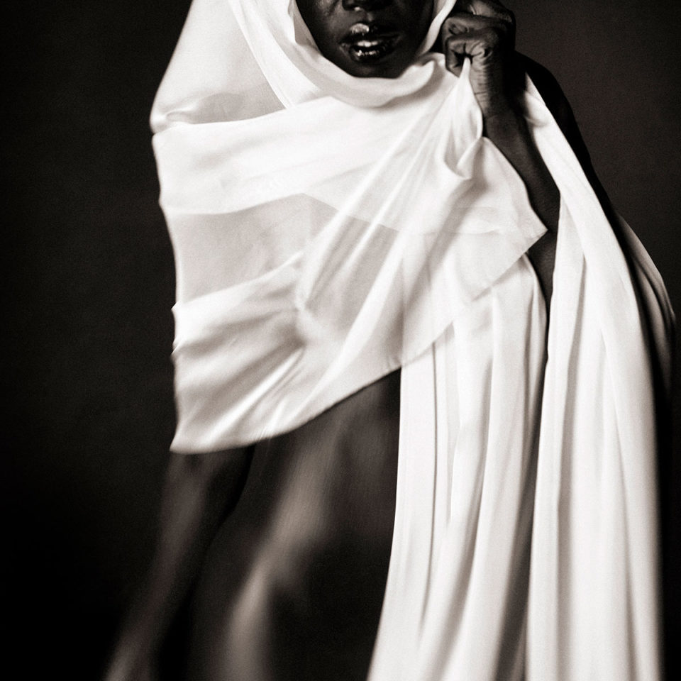DRAPED WOMAN 011 By Jean Christophe Lagarde