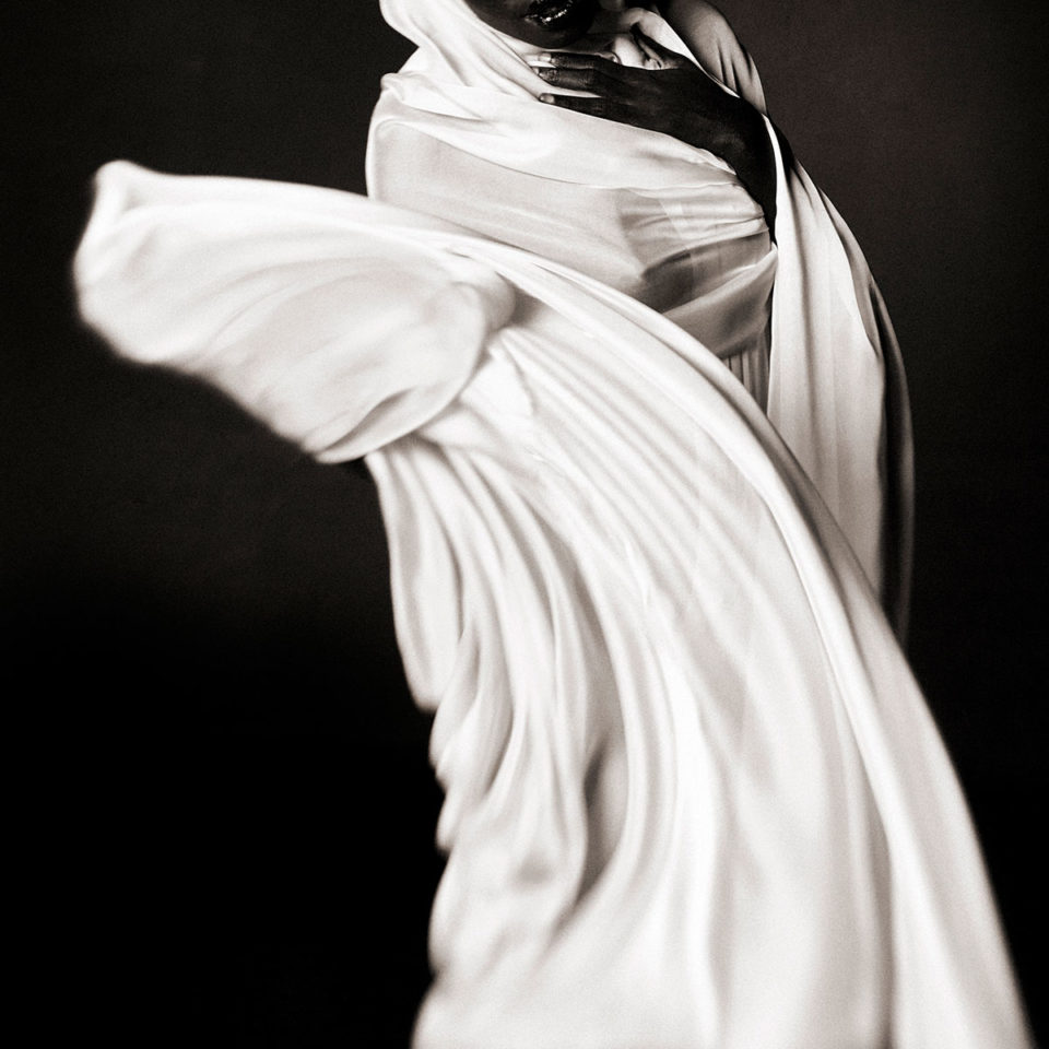 DRAPED WOMAN 012 By Jean Christophe Lagarde